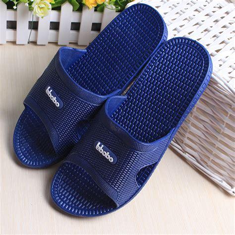 mens summer house slippers house slipper summer pvc bathroom slipper plastic
