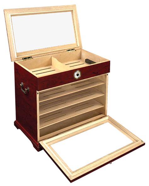 cigar humidor display cabinet 400 ct cigar humidor display case cabinet end ebay