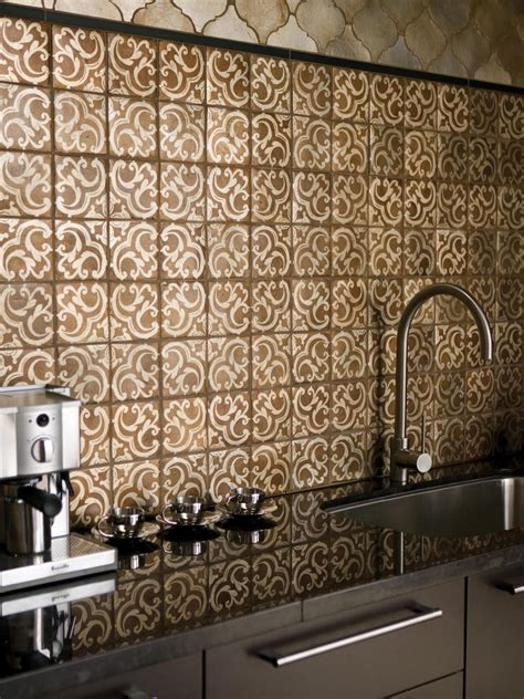 Handmade Tiles For Backsplash - granite kitchen countertop hgtv