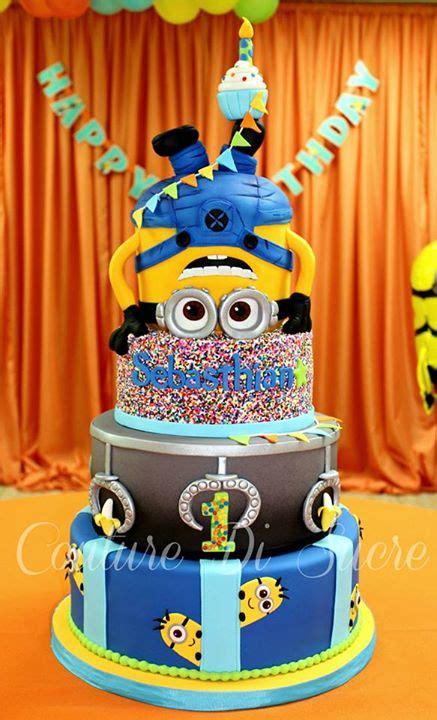 amazing minion birthday cakes pretty  party party ideas