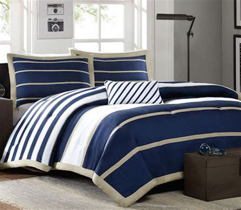 navy blue and white striped bedding navy blue white striped teen boy bedding twin xl full