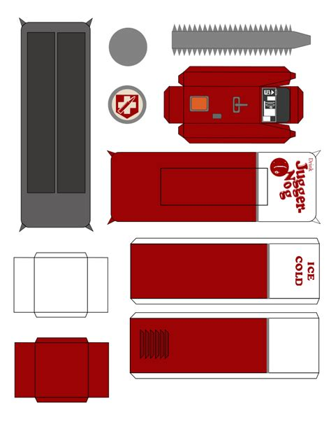Papercraft Machines - juggernog machine papercraft by dcnoel55 on deviantart