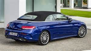 the new mercedes c class cabriolet