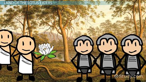 land of the lotus land of the lotus eaters in the odyssey lesson