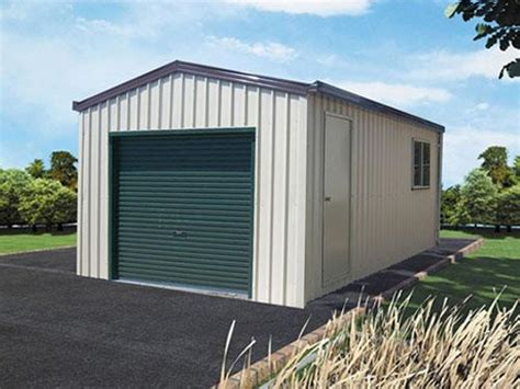 single garage double garage with gable doors economic garage built with