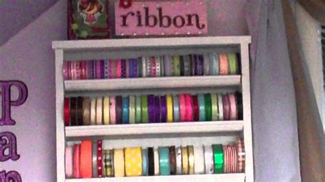 7 Ribbon Rack by Thrifty Crafter Tip 7 Quot Make Your Own Ribbon Rack Quot