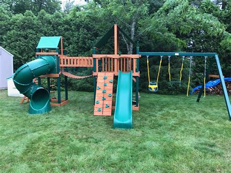 gorilla playsets savannah ii swing set playset assembler swing set installer in glastonbury ct
