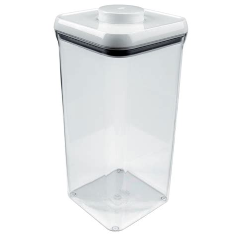 oxo kitchen storage containers oxo grips pop big square container 5 5 quart