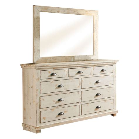 Willow Distressed White Dresser Progressive Furniture White Bedroom Dressers Chests