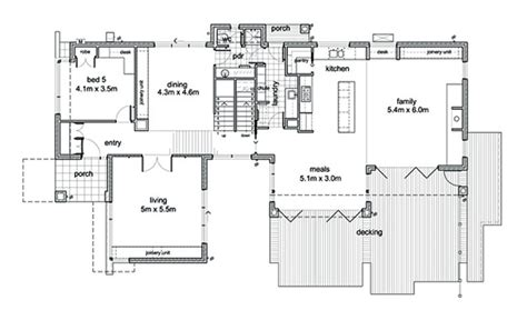 Modern Style House Plan 5 Beds 2 50 Baths 3882 Sq Ft Free House Plans Metric