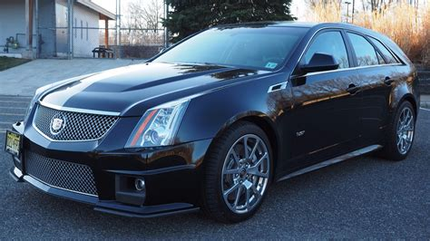 Cadillac Ctsv Wagon For Sale by Score This 2012 Cadillac Cts V Manual Wagon While It