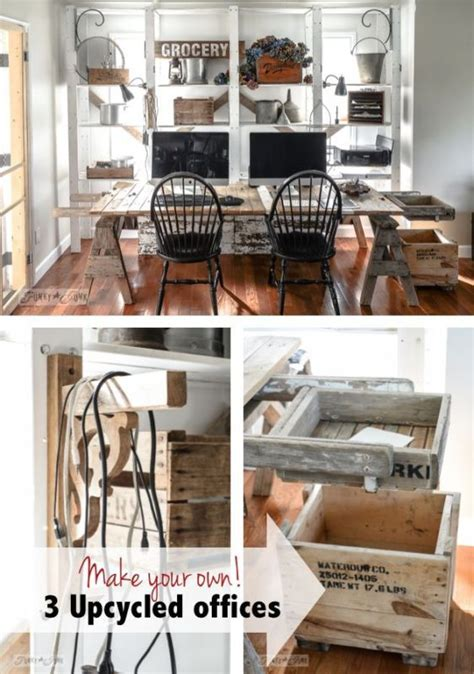 make your own upcycled office furniture funky junk