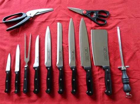 Solingen Tang Profesional 2 professional solingen cooks knife set catawiki