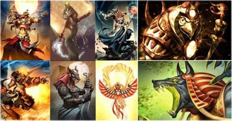 imagenes de divinidades egipcias conoce la descendencia de todos los dioses egipcios