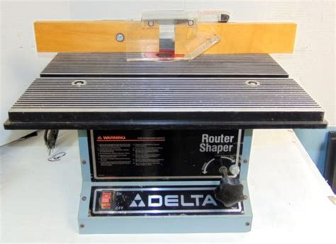Delta Router/shaper Model 43 505 Unused   What's it worth