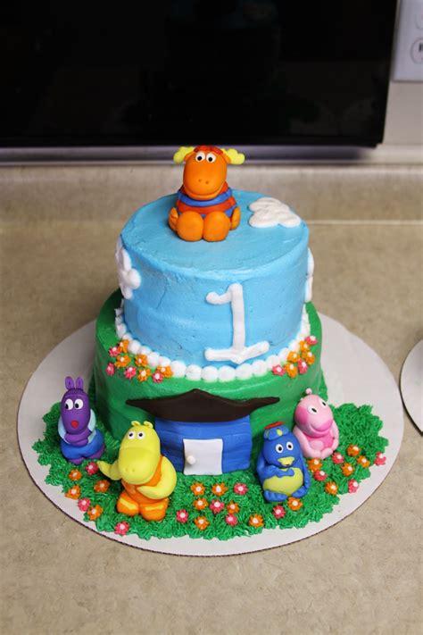 Backyardigans Cake Michele Robinson Cakes Backyardigans Cake