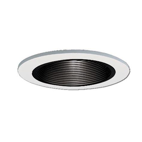 4 inch recessed light baffle trim halo 4 in white recessed lighting low voltage trim with