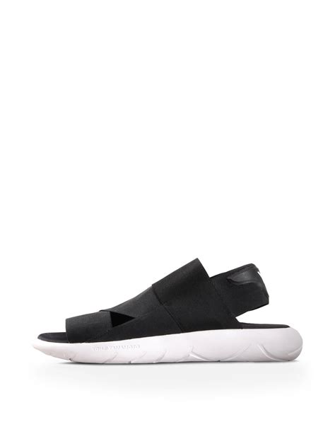 y3 sandals y 3 qasa sandal for adidas y 3 official store