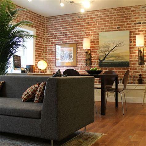 home dzine home decor  divine bare brick interiors