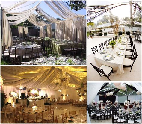 Backyard Reception Ideas Start With A Tent And Transform Your Backyard Wedding Into Whatever You Desire Onewed