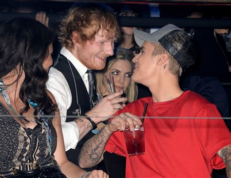 ed sheeran perfect justin bieber why ed sheeran once smashed justin bieber in the face with