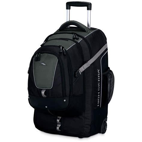high sierra  overpass wheeled travel pack