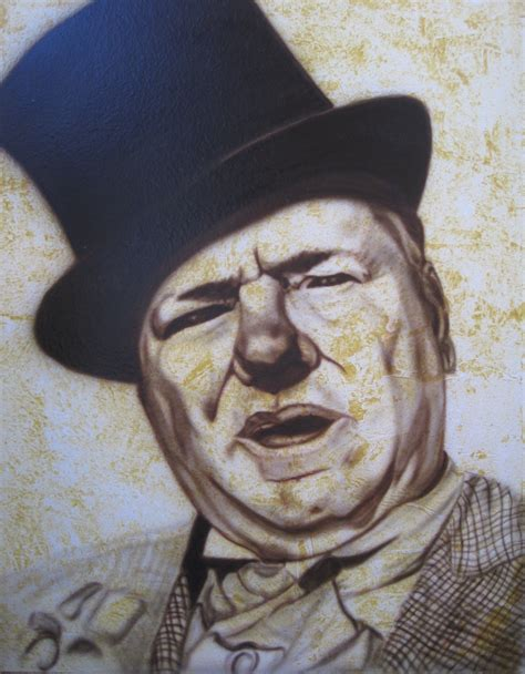 W C Fields Sketches by Airbrushed Portraits Custom Paint Wallcoverings