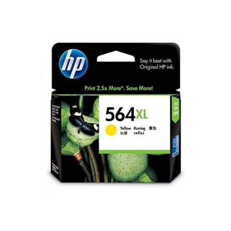 Hp 564 Yellow Tinta Printer hp 564xl yellow ink cartridge multimall