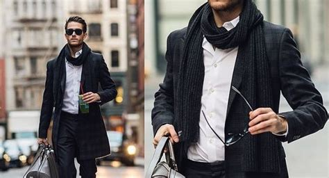 best clothing style for men how to tie a men s fashion scarf 6 classic styles