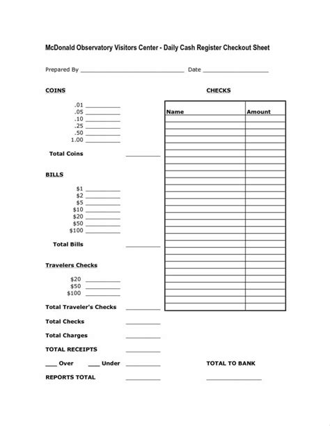 Simple Cash Till Register Sheets Pictures To Pin On Pinterest Pinsdaddy Money Register Template