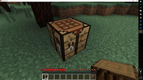 banco da lavoro minecraft iniziare a giocare a minecraft in modalit 224 survivor senza