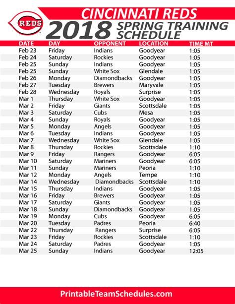 reds home schedule 28 images printable 2014 2015 tv