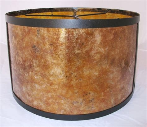 Mica Drum L Shade mica drum floor l shade or silver