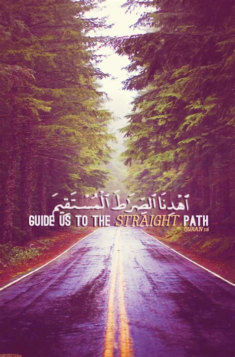 Kaos Islamic Artwork 2 Path guide us islamic quotes