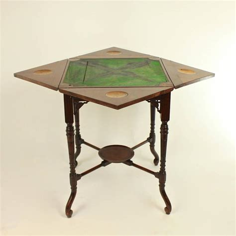 Card Tables For Sale by Edwardian Envelope Card Table For Sale At 1stdibs