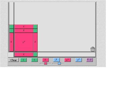 algebra tile template 28 images stuff fraction bars