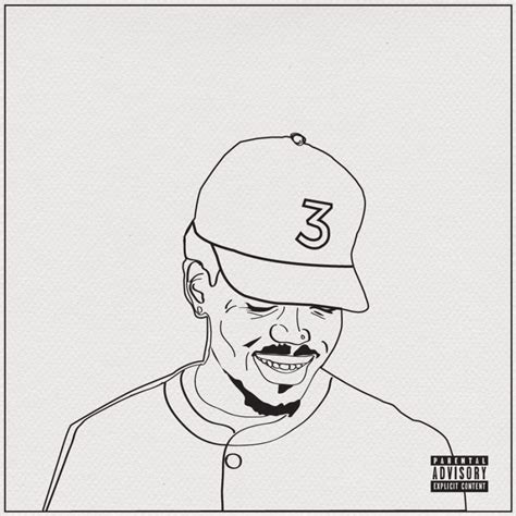 coloring book chance the rapper play chance the rapper artfully paints canvas in coloring book