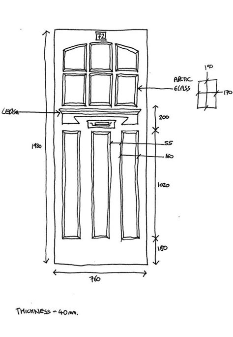 How Is A Standard Door Standard Exterior Door Height Bukit