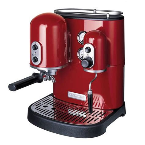 espresso machine kitchenaid buy kitchenaid espresso machine kes2102 candy apple red