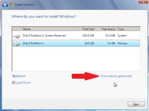 format hard disk before installing windows 7 partition the hard drive in a windows 7 install windows