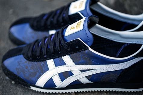 Onitsuka Tiger Corsair Nippon Made Blue X Blue bait x onitsuka tiger expands bruce collab with second