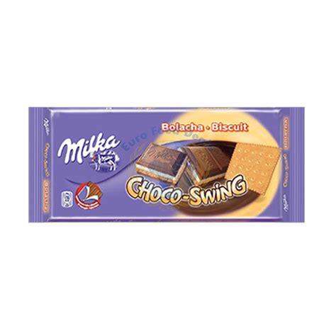 choco swing milka choco swing alpine milk chocolate 100g euro food deals