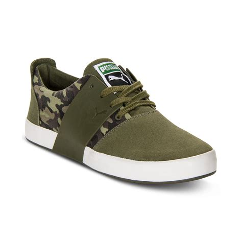 forest green sneakers el ace 3 camo sneakers in green for forest