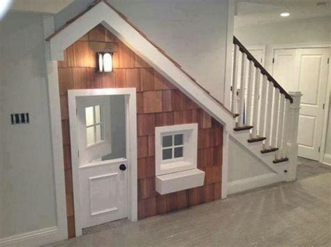 staircase dog house under stairs dog house stairs dog house pinterest