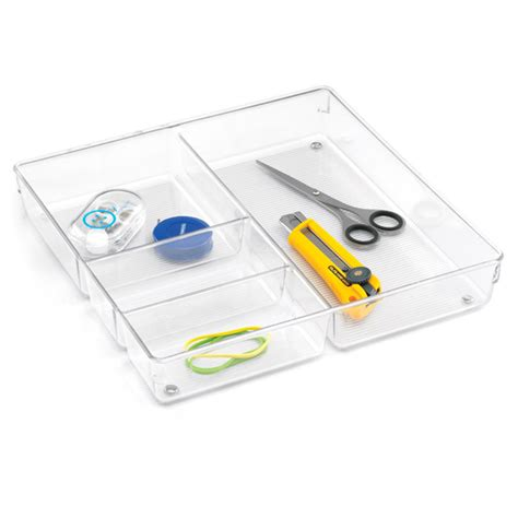 Drawer Organizer by Linus 4 Section Drawer Organizer The Container Store