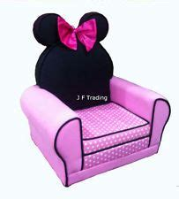 disney minnie mouse upholstered arm chair sofa children