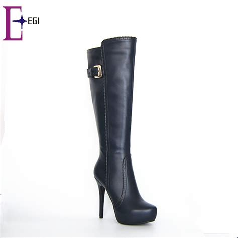 knee high boots cheap cheap platform high heel knee boots shoes buy