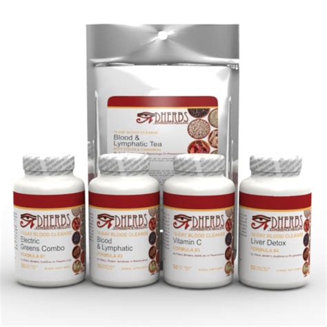 Blood Detox by Dherbs 10 Day Blood Cleanse Ebay