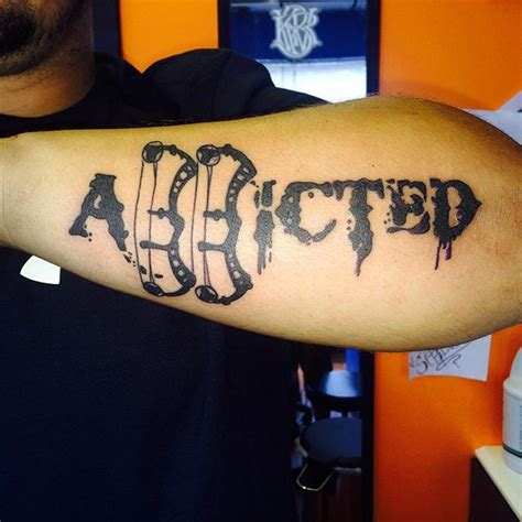 addiction tattoos 89 best tattoos of all time