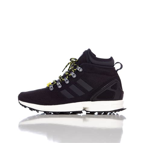 adidas zx flux winter mesh boots in black for lyst